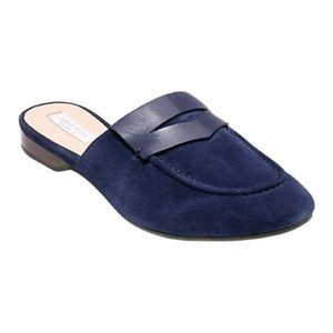 🆕Cole Haan Navy Evie Mules
